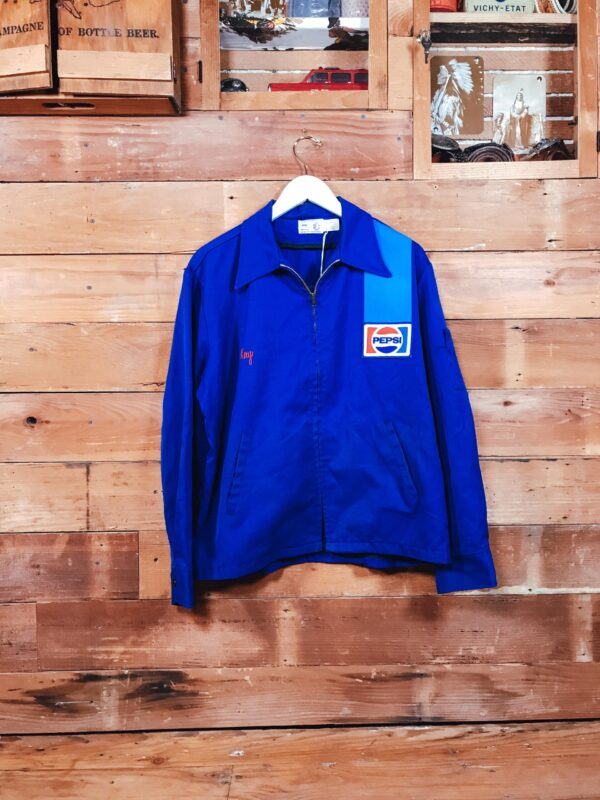 369 Old School Pepsi Jacket 1970s Embrodery Patch RECTO scaled