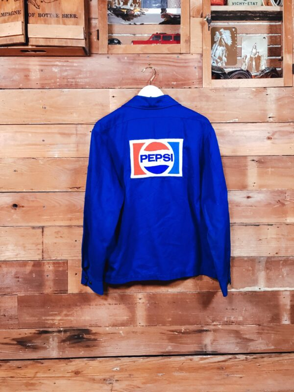 369 Old School Pepsi Jacket 1970s Embrodery Patch VERSO scaled