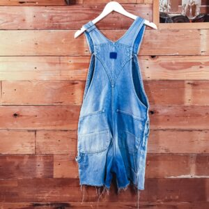 Denim OverAll's 1980's Faded
