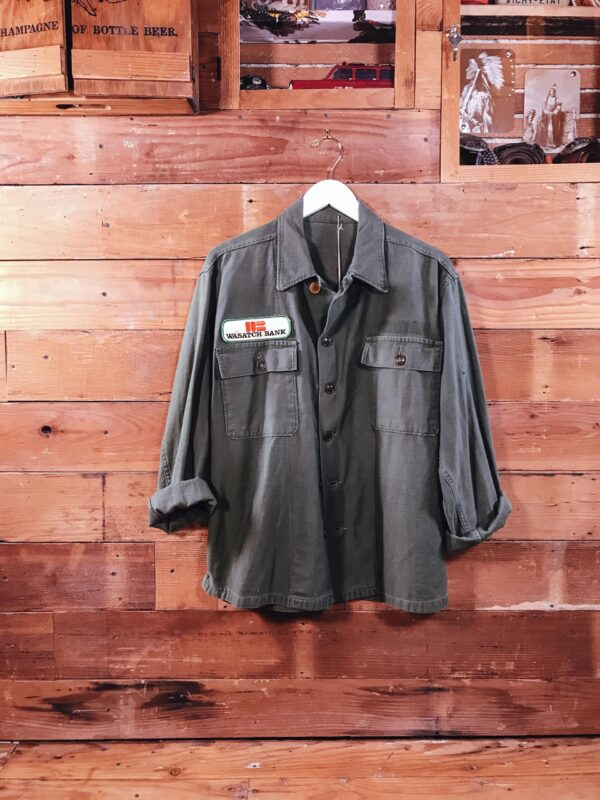 451 Army Green Shirt G.I RECTO scaled