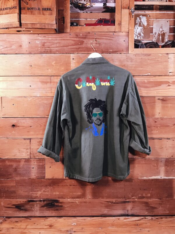 451 Army Green Shirt G.I VERSO scaled