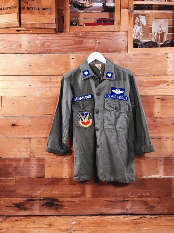 453 Army Green Shirt G.I RECTO scaled
